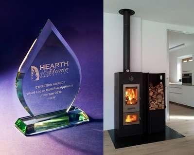 Award winning Walltherm stove