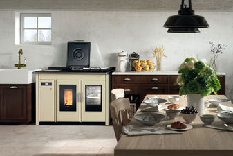 Klover wood pellet stoves cookers and boilers