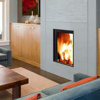 Stella 3 V350 woodburning inset stove
