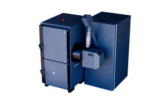 Arikazan Devron log and wood pellet biomass boiler