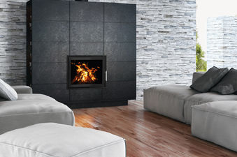 Woodfire EX Inset Panorama boiler stoves