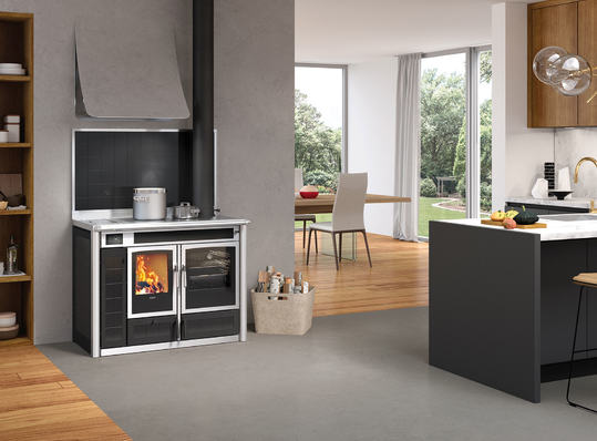 Klover Altea 110 wood cooker