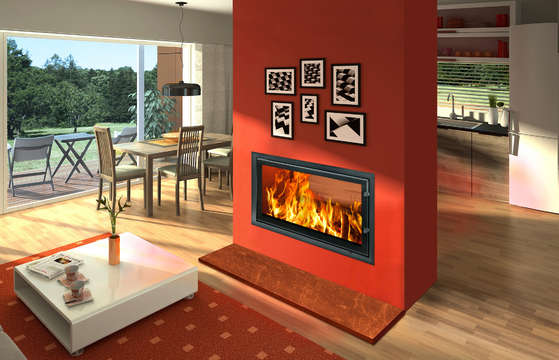 Woodfire RH 21 DS Panorama Stove