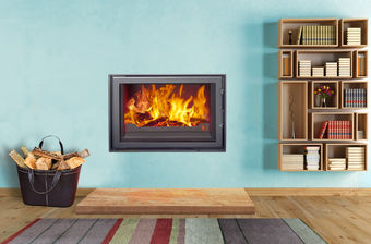 Woodfire RX inset boiler stoves