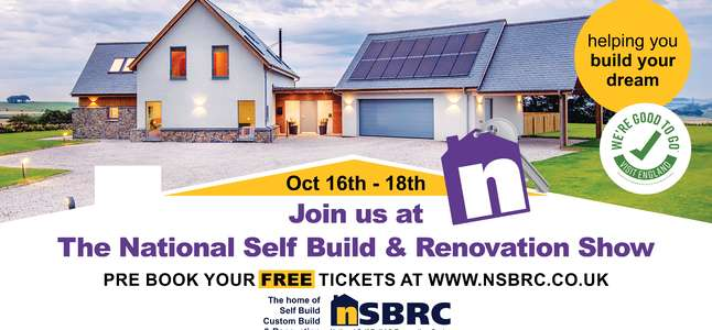 The National Self Build & Renovation Show: Friday 16th – Sunday 18th October