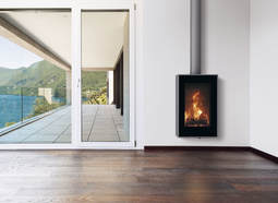 Carbel Vision Stove suspended