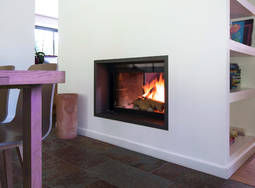 Ulys 900 Double Sided inset stove